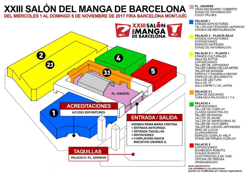 The Manga Hall The Culture Of Japan And The Comic Invade Barcelona Muchamasia