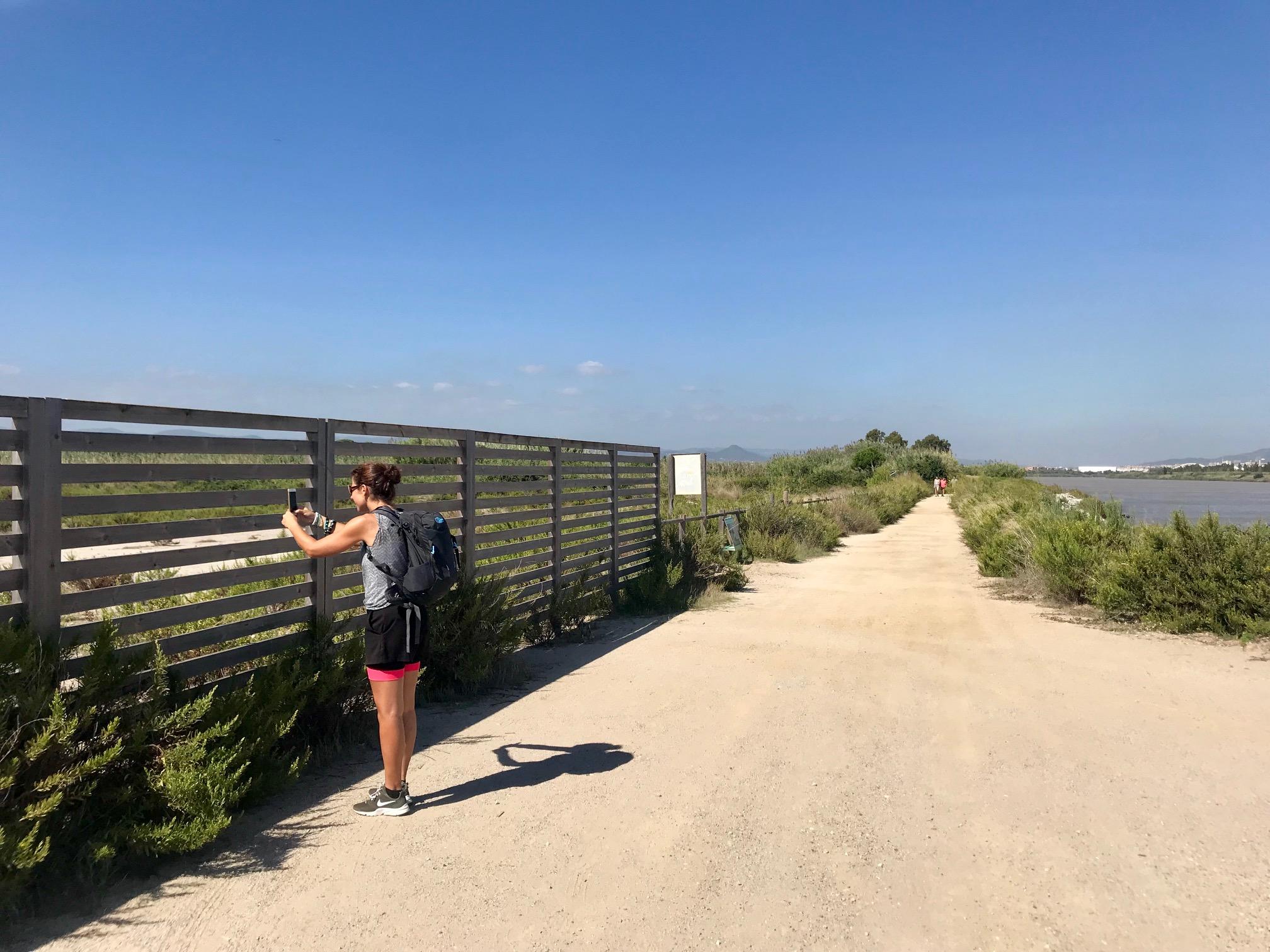 Paseando por el Delta del Llobregat