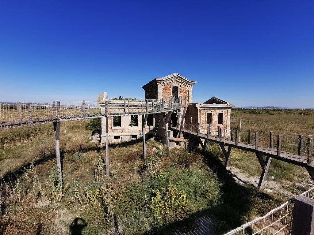 El Semàfor ubicado en el Delta del Llobregat